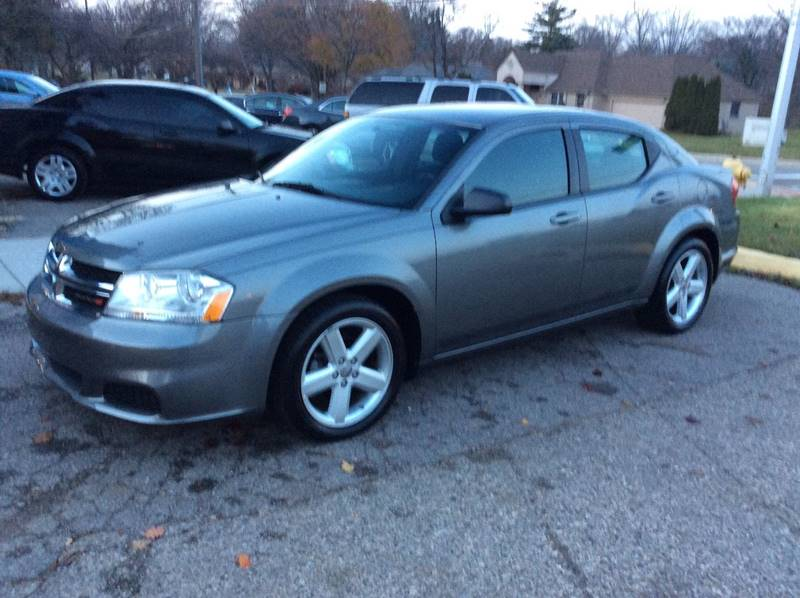 2013 Dodge Avenger SE 4dr Sedan - Mount Clemens MI