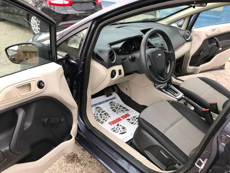 2012 Ford Fiesta S 4dr Sedan - Mount Clemens MI