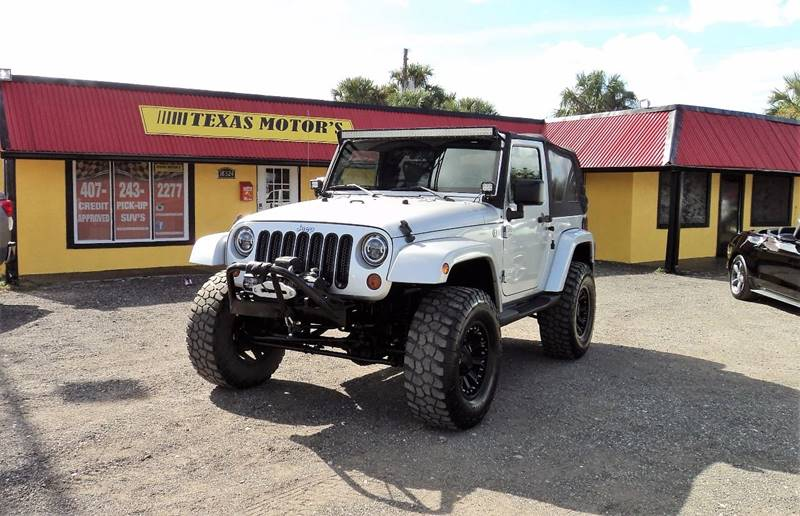Exceptional 2008 Jeep Wrangler For Sale At TEXAS MOTORS AUTO SALES In Orlando FL