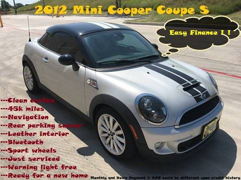Mini Cooper Coupe For Sale In Webster Ma Carsforsalecom