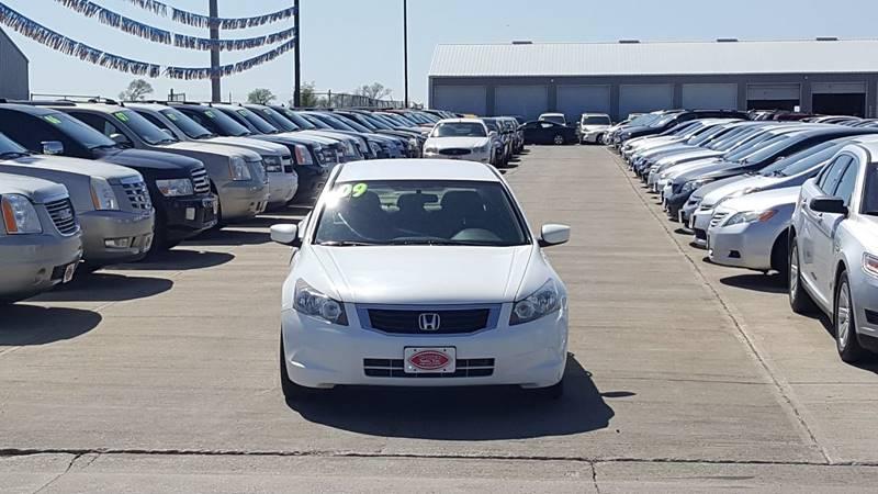 2009 Honda Accord EX 4dr Sedan 5A - South Sioux City NE