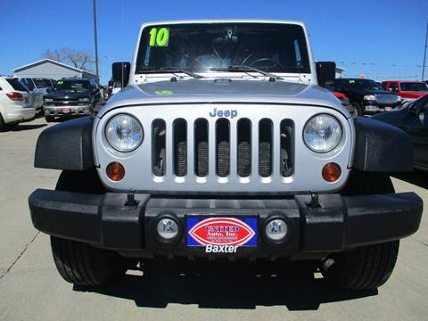2010 Jeep Wrangler Unlimited for sale in South Sioux City, NE