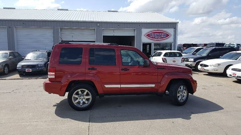 2008 Jeep Liberty 4x4 Limited 4dr SUV - South Sioux City NE