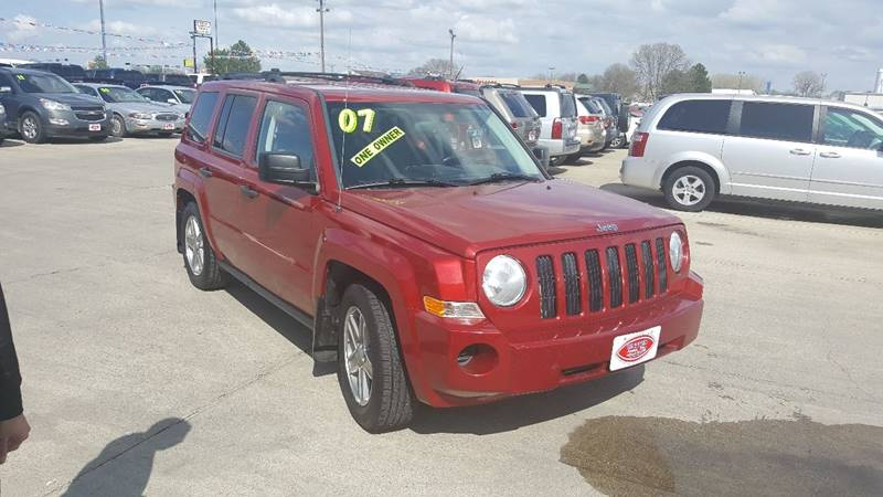 2007 Jeep Patriot 4x4 Sport 4dr SUV - South Sioux City NE
