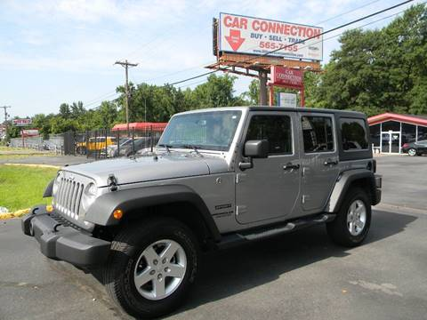 2016 Jeep Wrangler Unlimited for sale at Car Connection in Little Rock AR