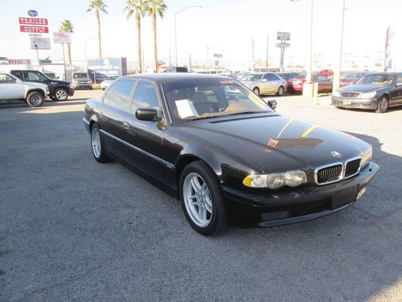 Used Cars in Las Vegas 2001 BMW 7 Series