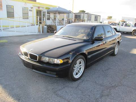 2001 BMW 7 Series For Sale In Las Vegas NV