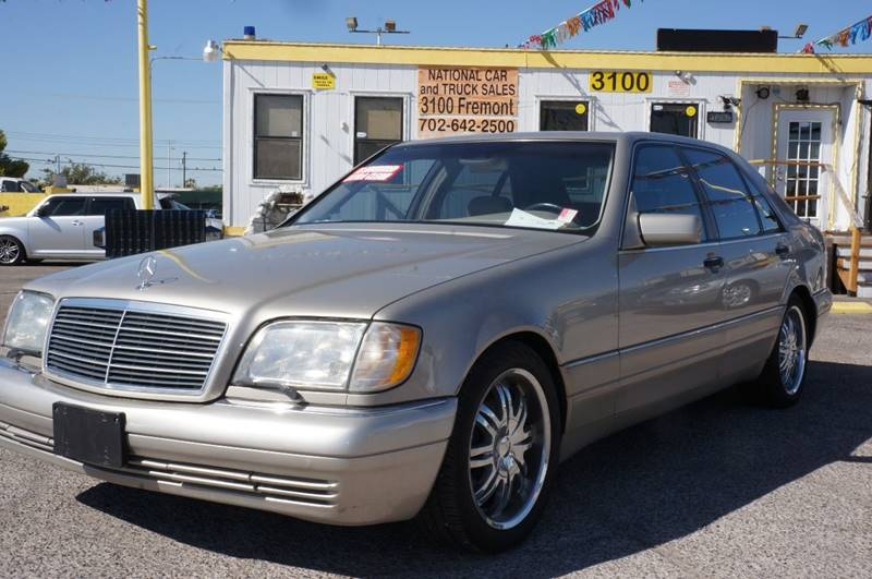 Used Cars in Las Vegas 1999 Mercedes Benz S-Class