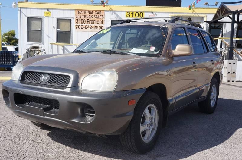 Used Cars in Las Vegas 2004 Hyundai Santa Fe