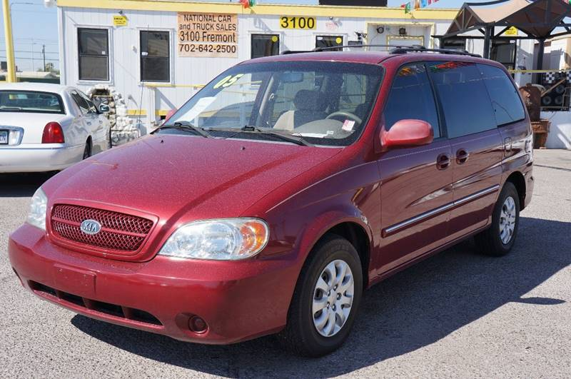kia sedona for sale at national car and truck sales in las vegas nv