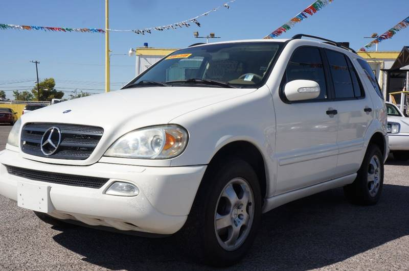 Used Cars in Las Vegas 2004 Mercedes Benz M-Class