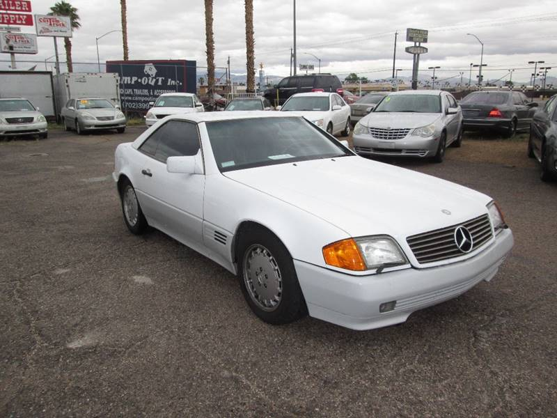 Used Cars in Las Vegas 1992 Mercedes Benz 500-Class