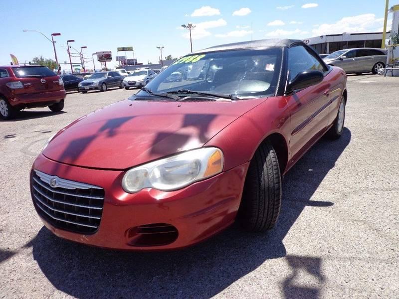 Used Cars in Las Vegas 2004 Chrysler Sebring