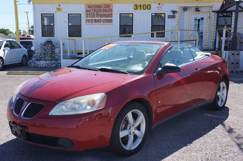 Used Cars in Las Vegas 2007 Pontiac G6