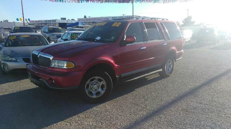Used Cars in Las Vegas 2002 Lincoln Navigator