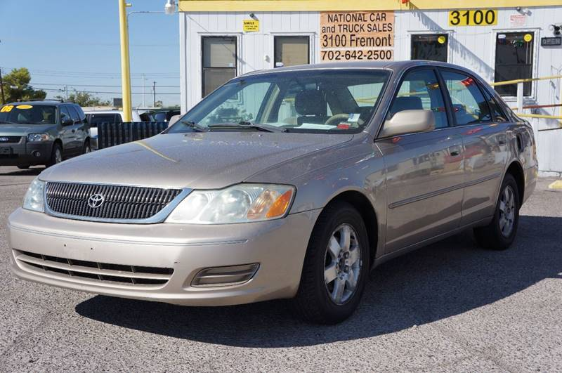 Used Cars in Las Vegas 2002 Toyota Avalon