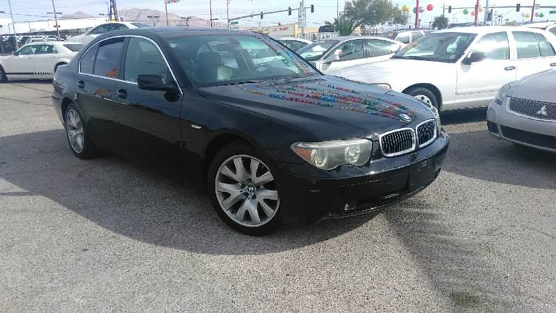 Used Cars in Las Vegas 2004 BMW 7 Series