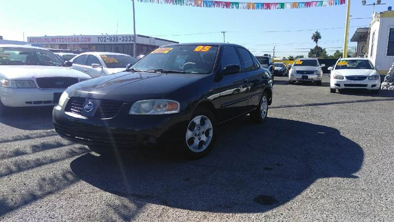 Used Cars in Las Vegas 2005 Nissan Sentra
