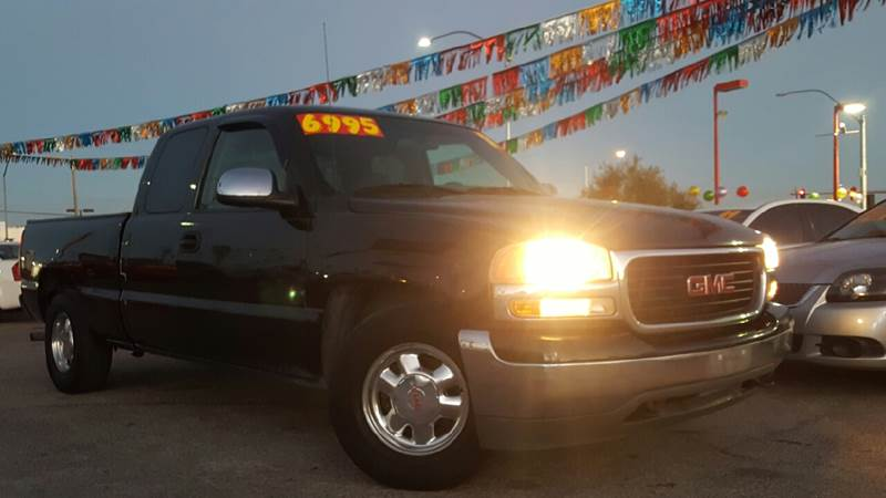 Used Cars in Las Vegas 2002 GMC Sierra 1500