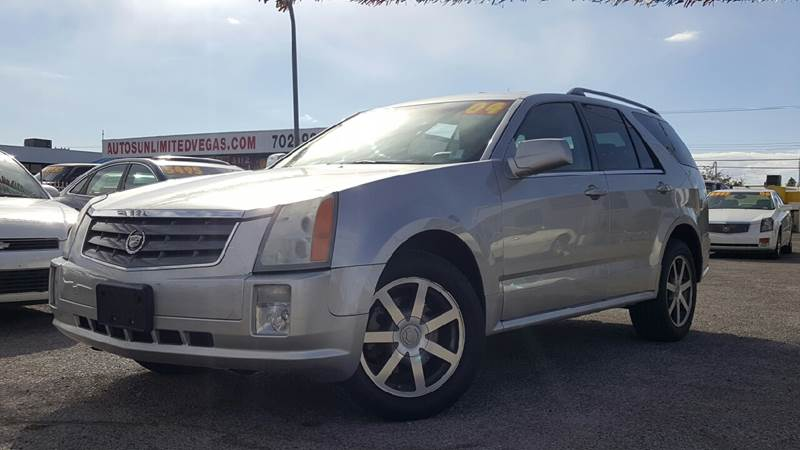 Used Cars in Las Vegas 2004 Cadillac SRX