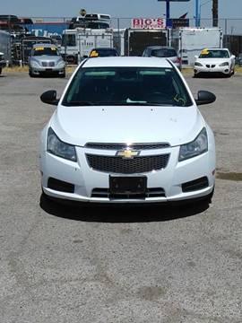 2012 Chevrolet Cruze for sale in Las Vegas, NV