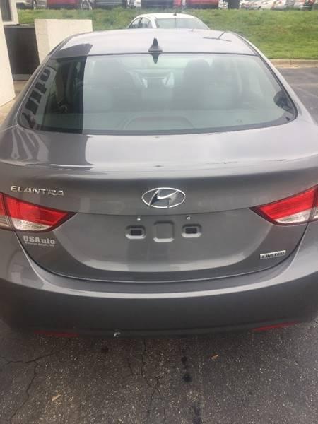 2013 Hyundai Elantra Limited 4dr Sedan - Winston Salem NC