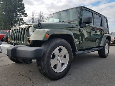 2008 Jeep Wrangler Unlimited for sale in Cabot, AR