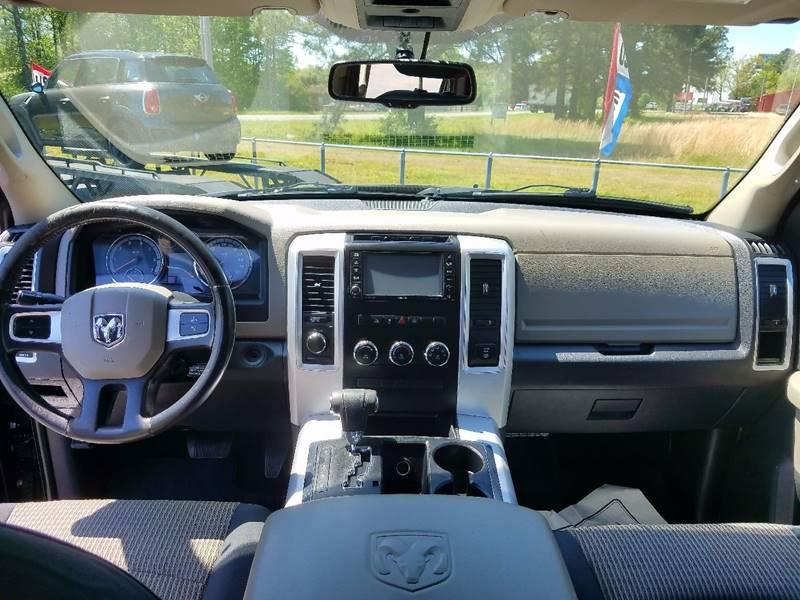 2010 Dodge Ram Pickup 1500 4x4 SLT 4dr Crew Cab 5.5 ft. SB Pickup - Cabot AR