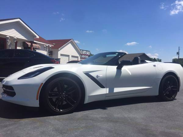 2014 Chevrolet Corvette Stingray Z51 2dr Convertible w/3LT - Cabot AR