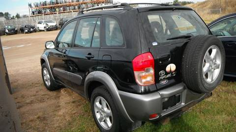 2003 Toyota RAV4 for sale at CousineauCrashed.com in Weston WI