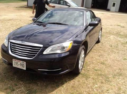 2012 Chrysler 200 Convertible for sale in Weston, WI