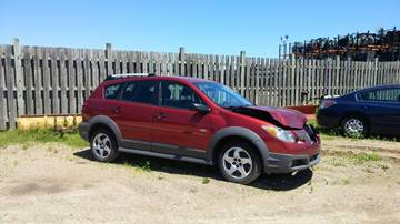 2008 Pontiac Vibe for sale at CousineauCrashed.com in Weston WI