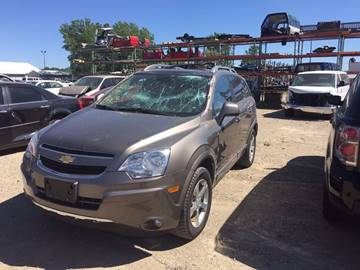 2012 Chevrolet Captiva Sport for sale at CousineauCrashed.com in Weston WI