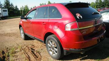 2007 Lincoln MKX for sale at CousineauCrashed.com in Weston WI