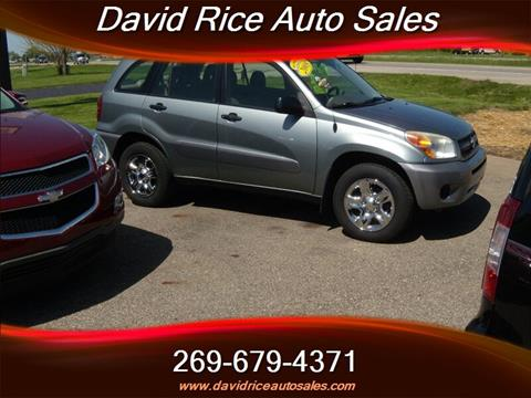 2005 Toyota RAV4 for sale in Schoolcraft, MI