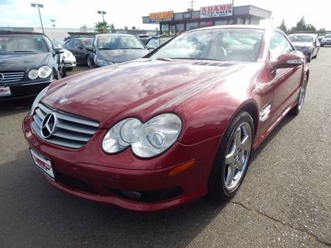 2003 Mercedes-Benz SL-Class for sale in Sacramento, CA