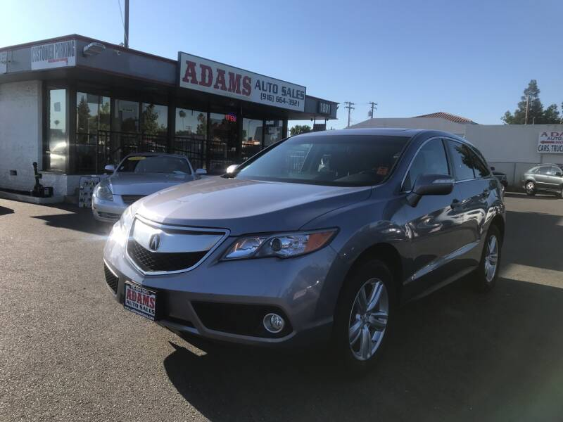 2014 Acura RDX for sale at Adams Auto Sales in Sacramento CA