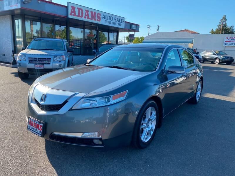 2010 Acura TL for sale at Adams Auto Sales in Sacramento CA