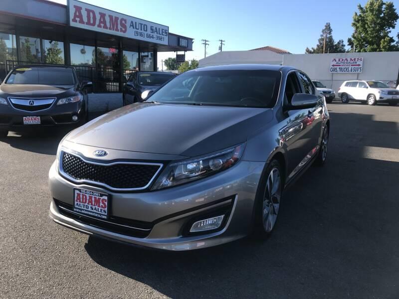 2015 Kia Optima for sale at Adams Auto Sales in Sacramento CA