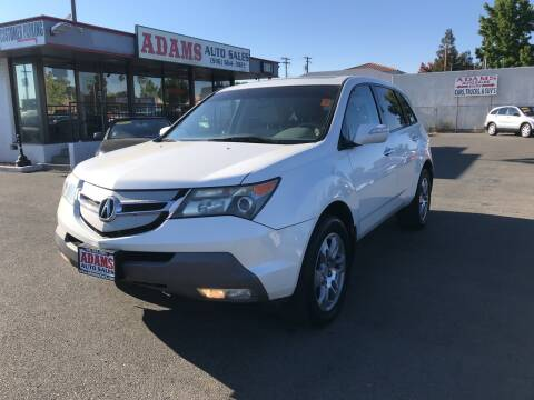 2009 Acura MDX for sale at Adams Auto Sales in Sacramento CA