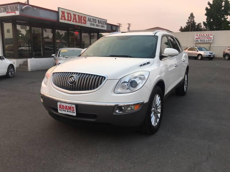 2012 Buick Enclave for sale at Adams Auto Sales in Sacramento CA