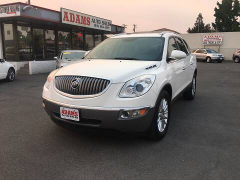 2012 Buick Enclave for sale at Adams Auto Sales in Sacramento CA