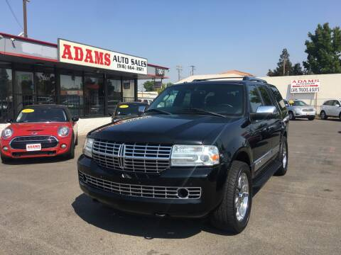 2009 Lincoln Navigator for sale at Adams Auto Sales in Sacramento CA