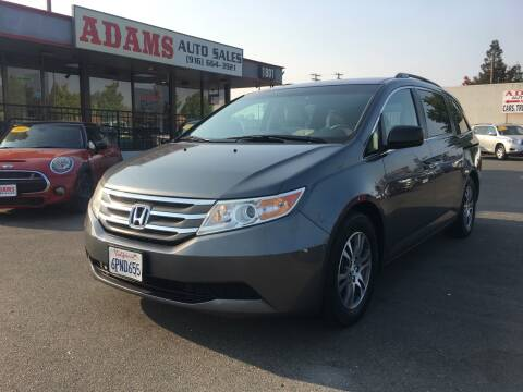 2011 Honda Odyssey for sale at Adams Auto Sales in Sacramento CA