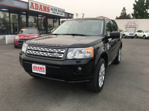 2011 Land Rover LR2 for sale at Adams Auto Sales in Sacramento CA