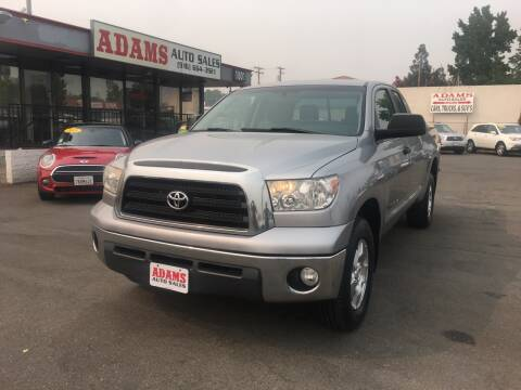 2007 Toyota Tundra for sale at Adams Auto Sales in Sacramento CA