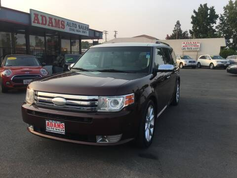 2012 Ford Flex for sale at Adams Auto Sales in Sacramento CA
