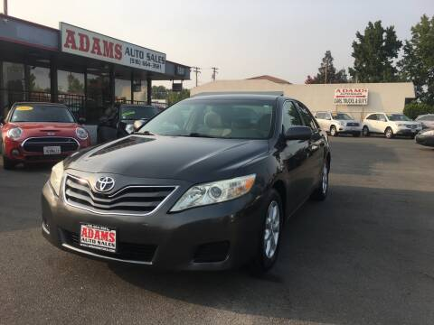 2011 Toyota Camry for sale at Adams Auto Sales in Sacramento CA