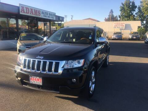 2012 Jeep Grand Cherokee for sale at Adams Auto Sales in Sacramento CA