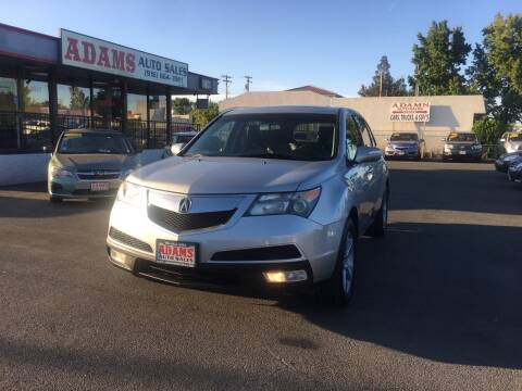 2013 Acura MDX for sale at Adams Auto Sales in Sacramento CA